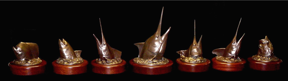 Bronze Game Fish Trophies